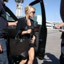 Jessica Simpson At Lax Airport In La
