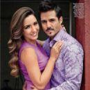 José Ron and Ariadne Díaz- People En Espanol Magazine September 2013 - 454 x 588