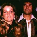 Priscilla Presley and Mike Stone