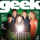Elizabeth Mitchell, Billy Burke, Tracy Spiridakos, Giancarlo Esposito - Geek Monthly Magazine Cover [United States] (April 2013)