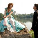 AMY ADAMS (left), PATRICK DEMPSEY (right) in ENCHANTED ©Disney Enterprises, Inc. All rights reserved. Photo Credit: BARRY WETCHER/SMPSP