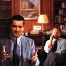 Robert De Niro and Billy Crystal in Warner Brothers' Analyze This - 1999