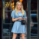 Chloe Sevigny in Mini Dress at The Bowery Hotel in NYC - 454 x 682