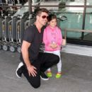 Robin Thicke is seen at LAX
