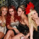 Aubrey O'Day Celebrates New Year's Eve