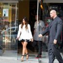 Kim Kardashian: at the Regal Movie Theater near Union Square in NYC