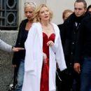 Cate Blanchett – Shoot a new campaign for Giorgio Armani in Barcelona - 454 x 708