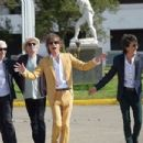 The Rolling Stones visiting Estadio Nacional in Chile - 1 February 2016