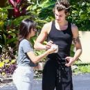 Camila Cabello and Shawn Mendes – Out for a walk in Coral Gables - 454 x 681