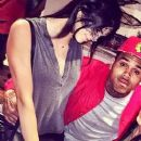 Chris Brown and Kendall Jenner - 254 x 500