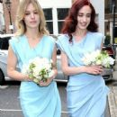 Rupert Murdoch and Jerry Hall wedding at St. Bride's Church on Fleet Street, London, Britain - 05 March 2016 - 454 x 842