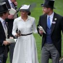 Meghan Markle – 2018 Royal Ascot Day One in Berkshire - 454 x 710
