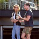 Stella Maxwell – Leaves Cafe Gratitude in Los Angeles