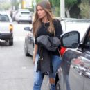Sofia Vergara is spotted out running errands in West Hollywood, California on February 20, 2017