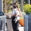 Kaia Gerber and Jacob Elordi – Out for a coffee in Malibu