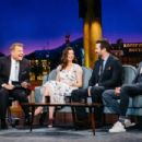Anne Hathaway on 'The Late Late Show with James Corden' in Los Angeles