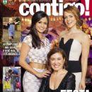 Leandra Leal, Lília Cabral, Nanda Costa, Império - Contigo! Magazine Cover [Brazil] (24 July 2014)
