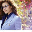 Eva Mendes Vogue Eyewear 2014 Campaign