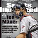 Joe Mauer - Sports Illustrated Magazine Cover [United States] (29 June 2009)