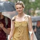 Carey Mulligan in Yellow Summer Dress – Out in NYC - 454 x 695