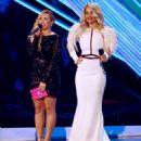 Demi Lovato and Rita Ora At The 2012 MTV Video Music Awards - 454 x 555