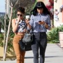 Selena Gomez stops by 7-11 in Encino, California with a friend to grab a coffee on January 28, 2014