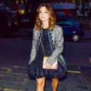 Jenna Coleman – Bvlgari Corner Shop Launch at Selfridges in London