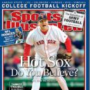 Curt Schilling - Sports Illustrated Magazine Cover [United States] (13 September 2004)