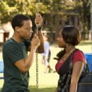 (L-r) BOW WOW as Kevin Carson and NATURI NAUGHTON as Stacie in Alcon Entertainment's comedy 'LOTTERY TICKET,' a Warner Bros. Pictures release. Photo by David Lee - 454 x 302