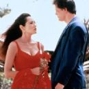 Michael Paré and Barbara Carrera