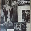 Sara Montiel - Cine Tele Revue Magazine Pictorial [France] (29 September 1961) - 454 x 589