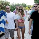 Jason Statham and Rosie Huntington-Whiteley in Miami