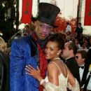 Vivica Fox and Dennis Rodman