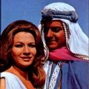 "Henrique Martins and Márcia de Windsor in ""O Sheik de Agadir"", 1966"