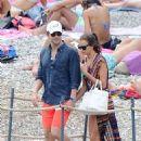 Irina Shayk On Vacation In Amalfi Coast
