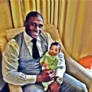 On Father's Day, June 16,2013 Reggie Bush introduced his baby daughter Briseis (whose mom is his fiancee Lilit Avagyan