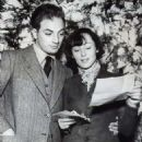 Clifford Odets and Luise Rainer