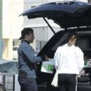 Lea Michele –  Shopping at Whole Foods in Los Angeles