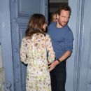 Alicia Vikander and Michael Fassbender Out in Paris 07/03/2017 - 454 x 731