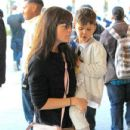 Selma Blair spotted taking her son to see the new movie 'Baby Boss' at the theater at The Grove in Los Angeles,  California March 30th, 2017 - 432 x 600