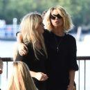 Kate Beckinsale on set of upcoming action film Jolt in London