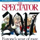 Geert Wilders - The Spectator Magazine Cover [United Kingdom] (31 December 2016)