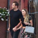Caroline Wozniacki with fiance David Lee out in Portofino - 454 x 574