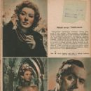 Greer Garson - Elokuva-Aitta Magazine Pictorial [Finland] (April 1949) - 454 x 596