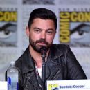 Actor Dominic Cooper attends AMC's 'Preacher' panel during Comic-Con International 2016 at San Diego Convention Center on July 22, 2016 in San Diego, California - 446 x 600