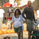 Nia Long and Ime Udoka - 454 x 568