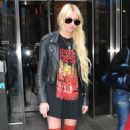 "Taylor Momsen: stopped by ""News Hit"" at the Fuse Studios in New York City"