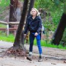 Malin Akerman at Griffith Park in Los Angeles