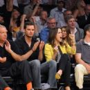 Sophia Bush @The Lakers game with boyfriend Austin Nichols