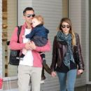Jessica Alba: took her daughters out to breakfast in Beverly Hills
